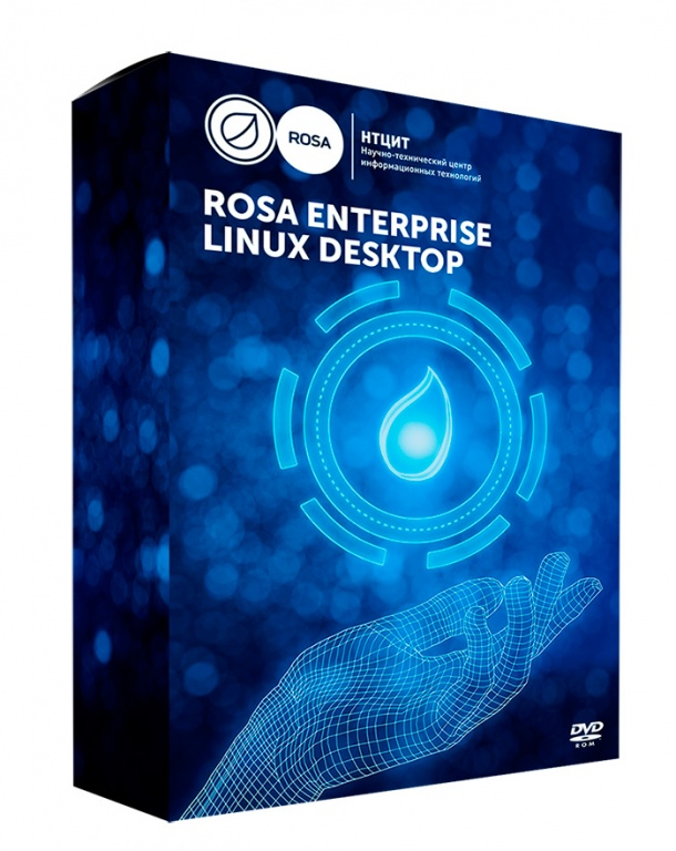 ОС ROSA ENTERPRISE DESKTOP